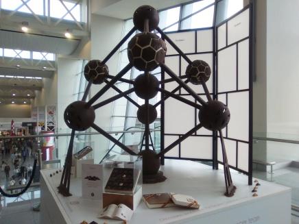 Atomium de chocolate (Neuhaus)
